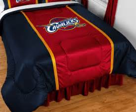 cleveland cavaliers nba sidelines comforter by sports