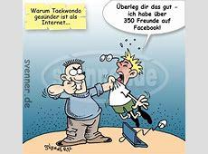 Cartoon Taekwondo vs Facebook svennerde