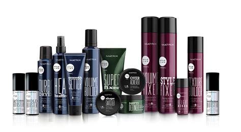 hair styling products for matrix style link l or 233 al professional products division 2313