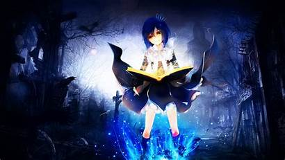 Anime Mage Magic Wallpapers Soft Shading Magical
