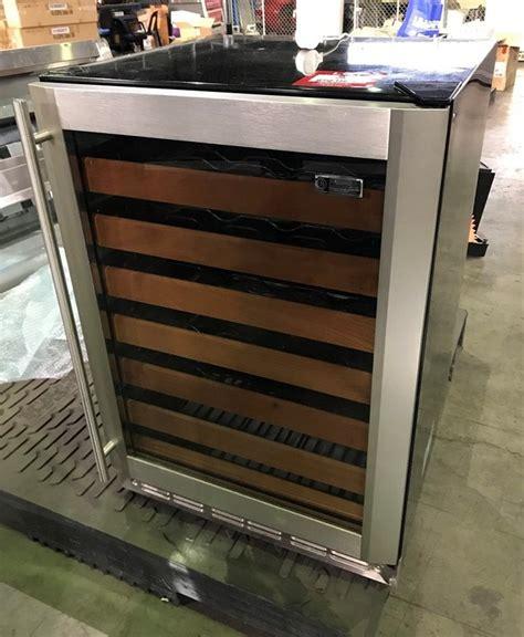 ge monogram  rack wine cooling fridge auction   grays australia