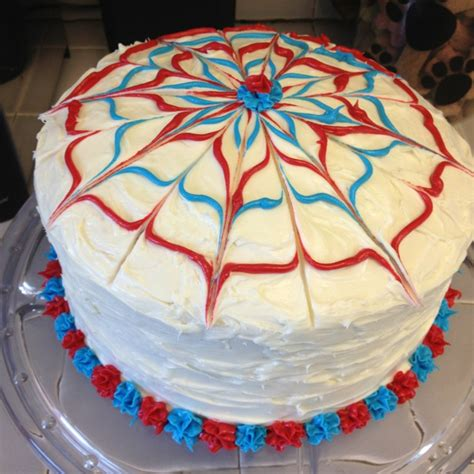 4th july cakes my fourth of july cake addie s bday 4th of july pinterest