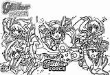 Coloring Pages Glitter Force Precure Five Printable Adults sketch template