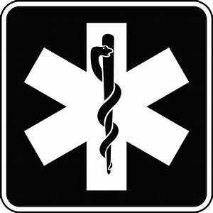 Emergency Medical Services, Black and White | ClipArt ETC