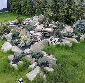 Steingarten Bilder Beispiele : steingarten gestalten ideen nowaday garden ~ Lizthompson.info Haus und Dekorationen
