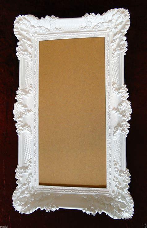 bilderrahmen mit spiegelrahmen bilderrahmen hochzeit 96x57 spiegelrahmen gem 228 lde wei 223 barock antik rahmen foto kaufen bei