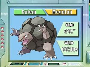 Pokémon of the Week - Golem