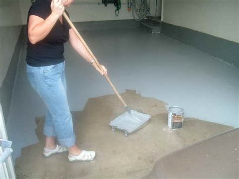 how to remove paint from garage floor how to paint your garage floor how to build it