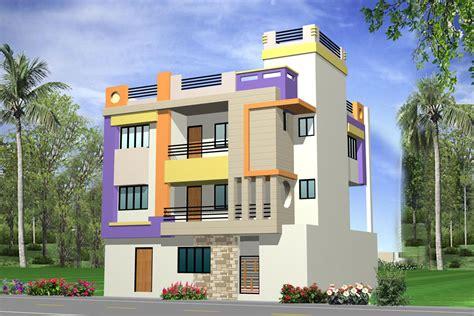exterior front elevation gharexpert