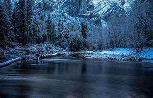 Landscape, Snow, Yosemite, National, Park, Wallpapers, Hd, Desktop, And, Mobile, Backgrounds