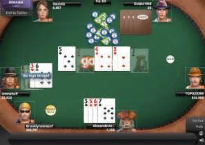 Omaha Poker Free Online Games
