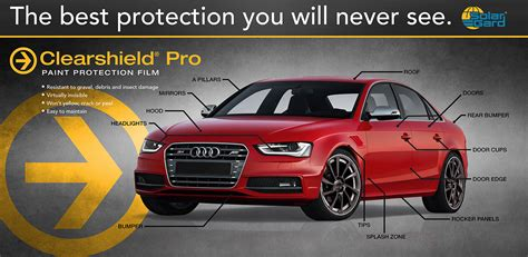 Automotive Paint Protection Film By Auto Glass Tint