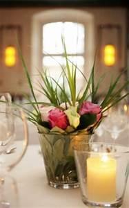 Rosen Im Glas : tischdekoration zur hochzeit ideen f r die hochzeit tischdeko ~ Eleganceandgraceweddings.com Haus und Dekorationen