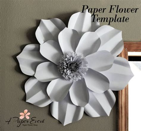 paper flower backdrop template paper flower template diy paper flower diy backdrop paper flower backdrop flower template