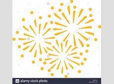 New years eve firework icon Stock Photo 130701466 Alamy