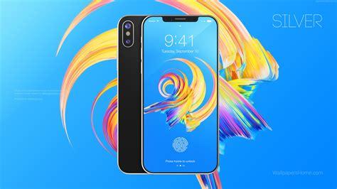 Wallpaper Iphone 8 Silver 3d Leaked Wwdc 2017 4k Hi