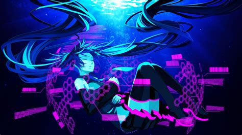 Hatsune Miku Anime Wallpaper - hatsune miku anime wallpapers hd 4k for mobile