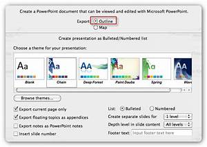 How To Create A Powerpoint Presentation From A Swot Mindmap