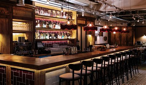 Vintage Bar by Vintage Lights In Marylebone Rothschild Bickers