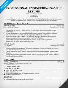 Professional Engineer Resume Template