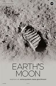 Earth U0026 39 S Moon Poster
