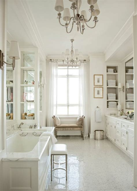 [luxury White Bathrooms]  28 Images  40 Luxurious Master