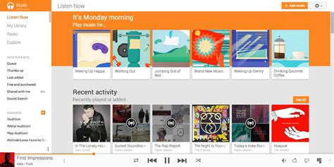 New Update To Google Play Music App Brings Material Design