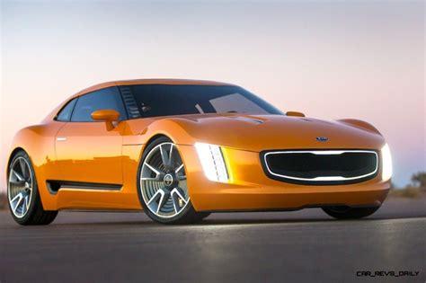 2015 Kia Gt4 Stinger by Kia Gt4 Stinger Concept Track Thrills Rwd Layout