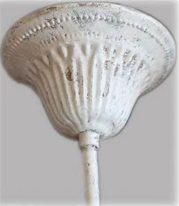 Deckenlampe Shabby Chic : kronleuchter l ster h ngelampe wei antik vintage landhaus shabby deckenlampe 754220121747 ebay ~ Frokenaadalensverden.com Haus und Dekorationen