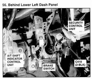 Service Manual  How To Fix 2000 Isuzu Trooper Inhibitor Switch