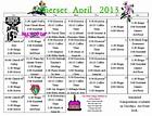 17+ images about activity calendars on Pinterest | Senior ...