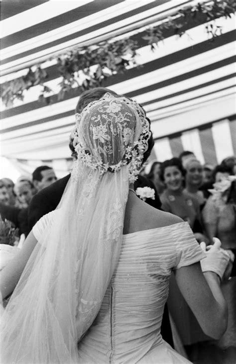 vintage real wedding  president  jackie kennedy