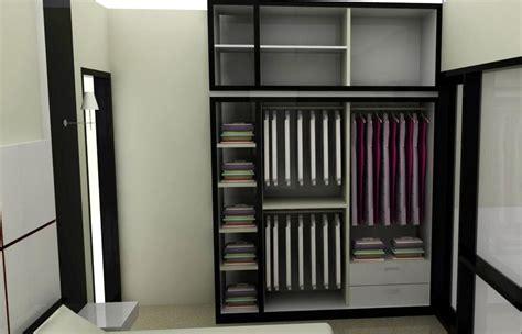 model lemari pakaian  ruangan minimalis blog rumahdewi