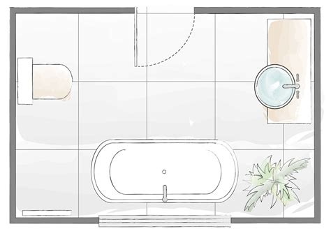 Design A Bathroom Layout by Bathroom Layout Plans For Small And Large Rooms