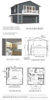 garage apartment floor plans turn a garage apartment plan into a tiny house plan