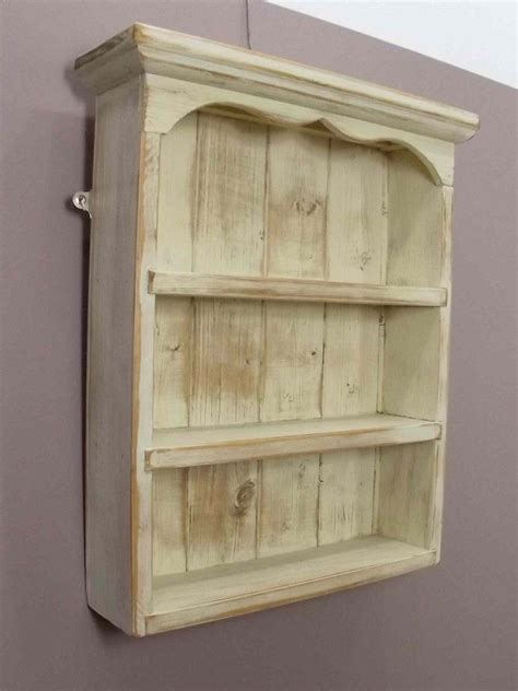 Wood Spice Rack For Wall by Display Shelves Large Antique Pine Spice Rack Display