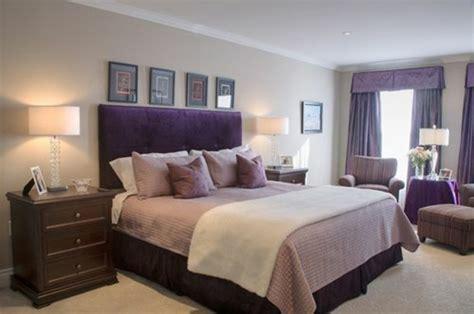 chambre couleur violet 1001 idées pour la décoration d 39 une chambre gris et violet