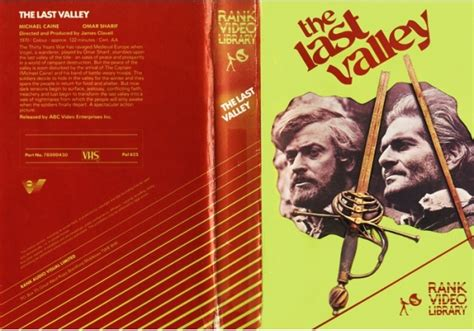 Last Valley, The On Rank (united Kingdom Vhs Videotape