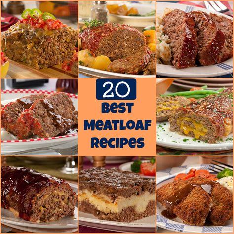 meatloaf recipes how to make meatloaf 20 of our best meatloaf recipes mrfood com