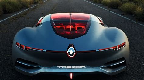 renault trezor renault trezor electric concept high tech glorious sleek