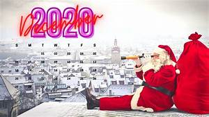 2020 December Calendar Hd Wallpaper For Desktop Background
