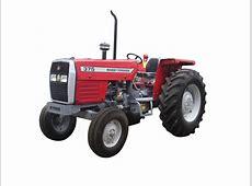 Massey Ferguson Tractor MF 375 2WD 75HP