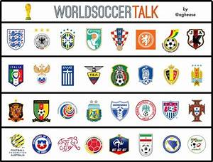 Crests For 32 World Cup Teams Ranked From Best to Worst ...