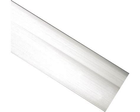 Blende Für Vorhangschiene Edelstahloptik 5 Cm Breit Bei