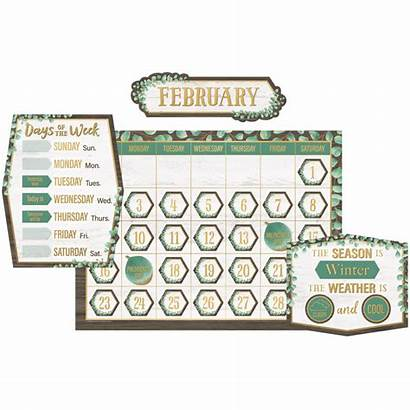 Bulletin Calendar Board Eucalyptus Teacher Resources Tcr