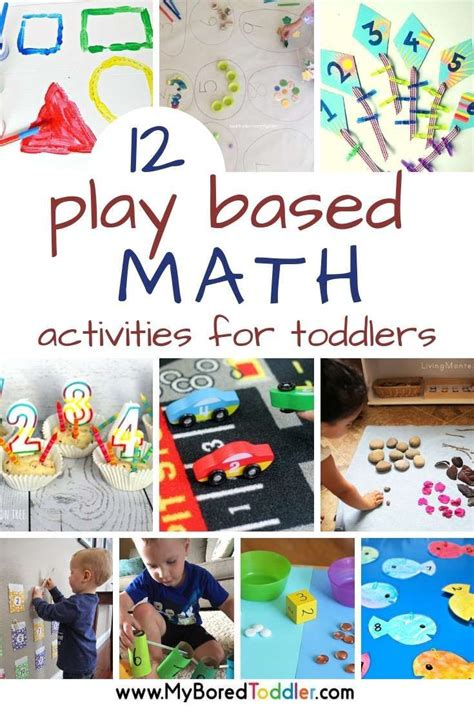 play based math activities  toddlers math activities
