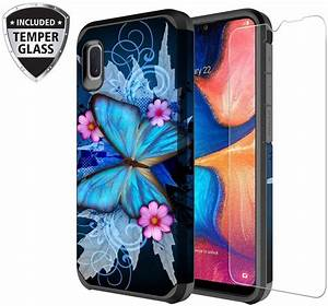 Galaxy Wireless Galaxy A10e Case With Tempered Glass