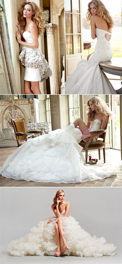talented wedding dress designers   latest