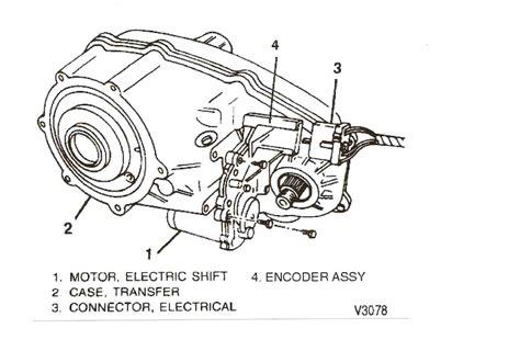 Chevy Blazer Transfer Case Shifter Does Not Shift