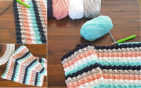 [easy] Ever So Striped Crochet Baby Blanket Crochet Baby Blanket Patterns Using Bulky Yarn Hotel Quality Vellux Jason Australian Wool Review Personalised Gifts Pattern For Babies Electric Blankets Dogs South Africa Picnic Australia Mini In A Recipe